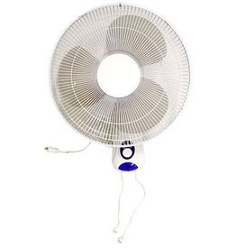 "Oscillating Wall Fan 16"" 3 Speed"