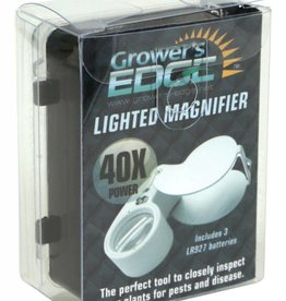 Growers Edge Growers Edge Illuminated Magnifier Loupe 40x
