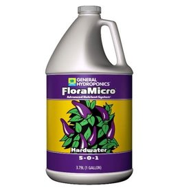 General Hydroponics GH Hardwater Flora Micro 1 Gallon