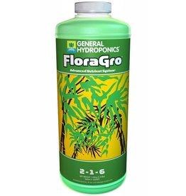General Hydroponics GH Flora Gro  - 1 Quart / 1 Liter