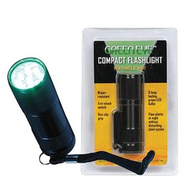 Grower's Edge Green LED Flashlight