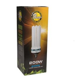 SunBlaster Sunblaster CFL Compact Fluorescent Bulb 200W 6400K