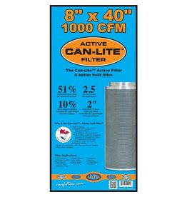 """Can-Filter Can-Filters Can-Lite Carbon Filter 1000 CFM 8"""""""