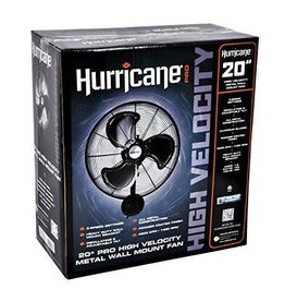 Hurricane Hurricane Pro High Velocity Oscillating Metal Wall Mount Fan 20 inch