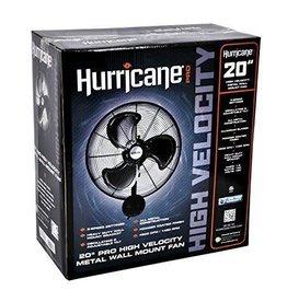 Hurricane Hurricane Pro High Velocity Oscillating Metal Wall Mount Fan 20 inch