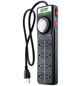 Titan Controls Titan Controls Apollo 14 - 8 Outlet Power Strip w/ Timer