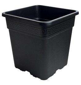Gro Pro Gro Pro Black Square Pot 8 Gallon
