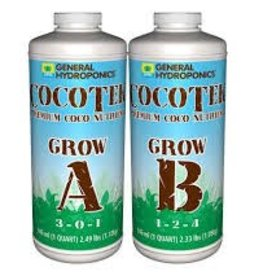 General Hydroponics Cocotek Grow A & B (Pair) Quart