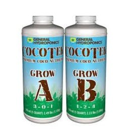 General Hydroponics Cocotek Grow A & B (Pair) Quart