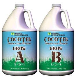 General Hydroponics Cocotek Grow A & B (Pair) Gallon
