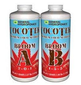 General Hydroponics Cocotek Bloom A & B (Pair) Quart