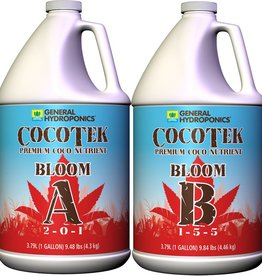General Hydroponics Cocotek Bloom A & B (Pair) Gallon