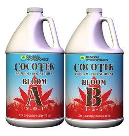 General Hydroponics Cocotek Bloom A & B (Pair) Gallon