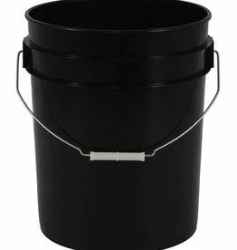 Go Pro Gro Pro Black Plastic Bucket 5 Gallon