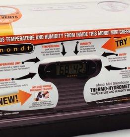 Mondi Mondi Mini Greenhouse Thermo-Hygrometer