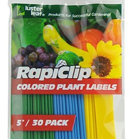Lusterleaf Luster Leaf Colored Plant Labels 5 in