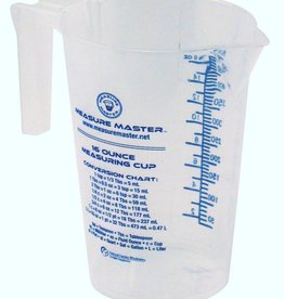 Measure Master Measure Master Graduated Round Container 16 oz / 500 ml (40/Cs)