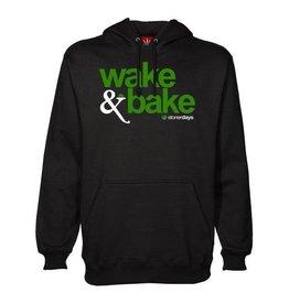 Stonerdays Wake & BAke Hoodie - L