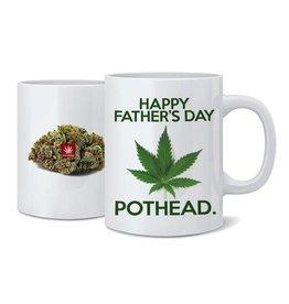 Stonerdays Happy Fathers Day Pothead Nug Mug