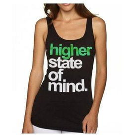 Stonerdays Womans Higher State of Mind Tank - L