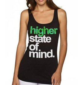 Stonerdays Womans Higher State of Mind Tank - M