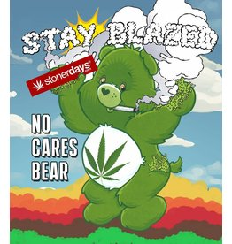 Stonerdays No Cares Bear -Card
