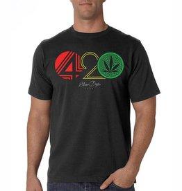 Stonerdays Mens 420 Rasta Tee -  XL