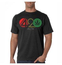 Stonerdays Mens 420 Rasta Tee - M