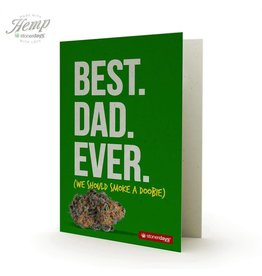 Stonerdays Best Dad Ever - Card