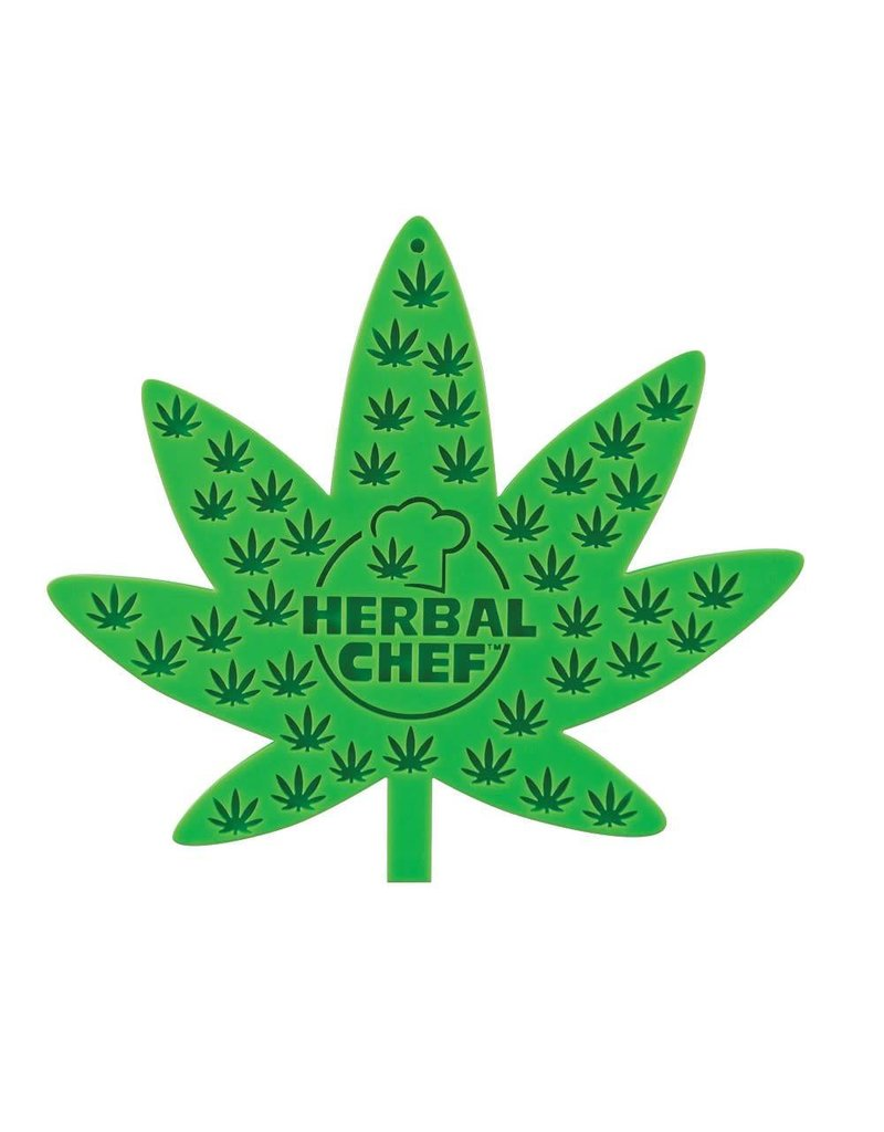 "7""X8"" Herbal Chef Silicone Trivet/Pot Holder"