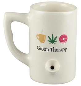 Ceramic Water Pipe Mug - 8oz - Group Therapy