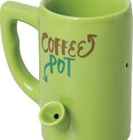 Ceramic Water Pipe Mug -8oz-Coffee Pot
