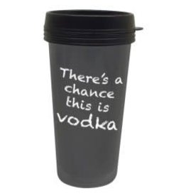 Chance It's Vodka Travel Mug