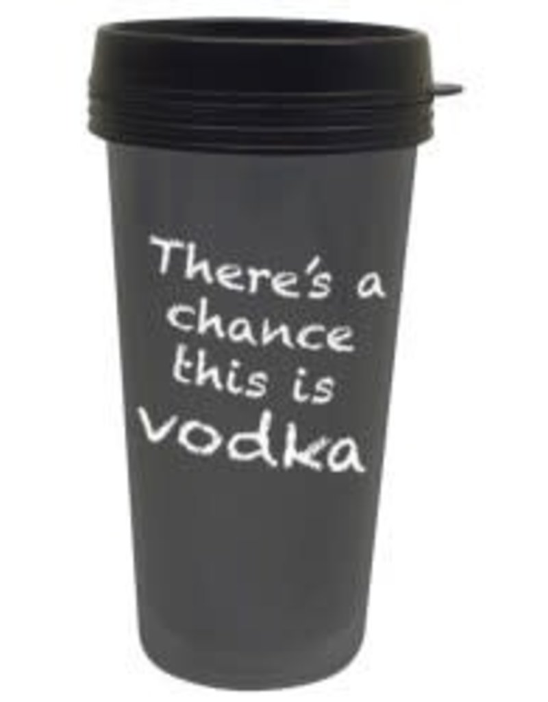 Chance It's Vodka Travel Mug