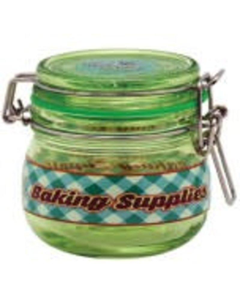 Baking Supplies Glass Jar - Large