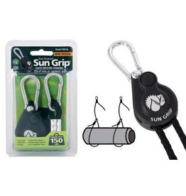 Sun Grip Push Button Heavy Duty Light Hanger Straps