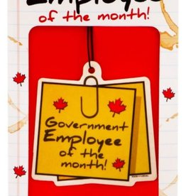 Main and Local Gov't Employee Of The Month Air Freshener