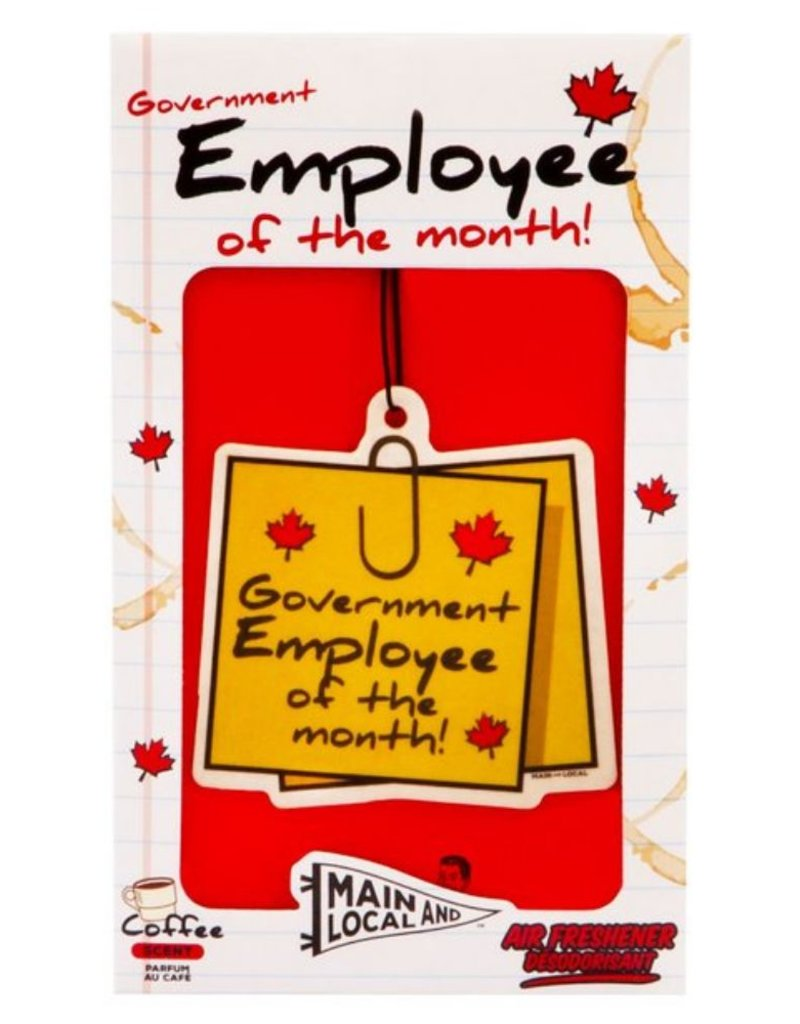 Government Employee of the Month