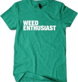 SWAG Men's Weed Enthusiast Tee