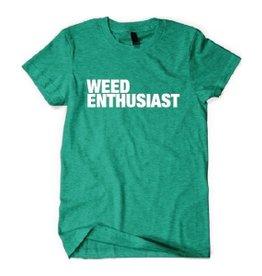Men's Weed Enthusiast Tee - Medium