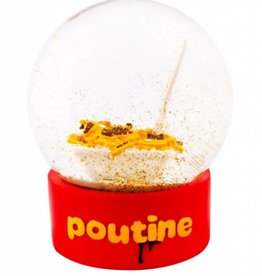 Main and Local Poutine Snow Globe