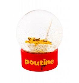 Poutine Snow Globe