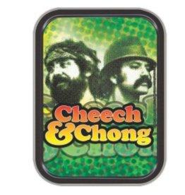 """4.5"""" x 3.5"""" Cheech & Chong Pop Art Stash Tin"""