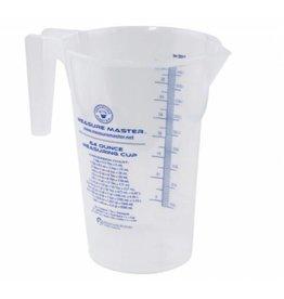 Measure Master Measure Master Graduated Round Container 64oz/2000ml (20/Cs)