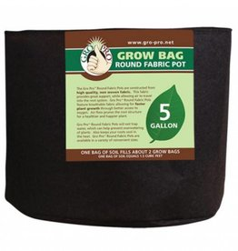 Gro Pro Gro Pro Premium Round Fabric Pot 5 Gallon
