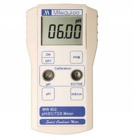 Milwaukee Milwaukee MW802 Smart pH/EC/TDS/Combination Meter