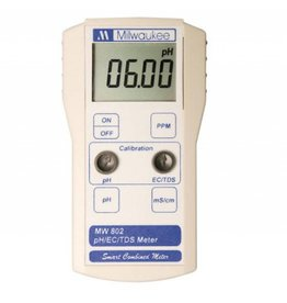 Milwaukee MW802 Smart pH/EC/TDS/Combination Meter