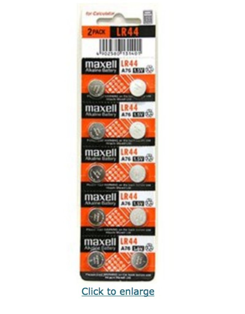 Maxell Batteries For Analysis Instrumentation (10)