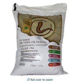 Cinagro Cinagro Earthworm Castings Bag 15L