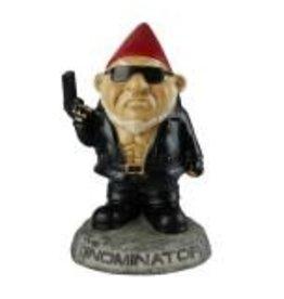 """The Gnominator Garden Gnome Statue 9"""""""